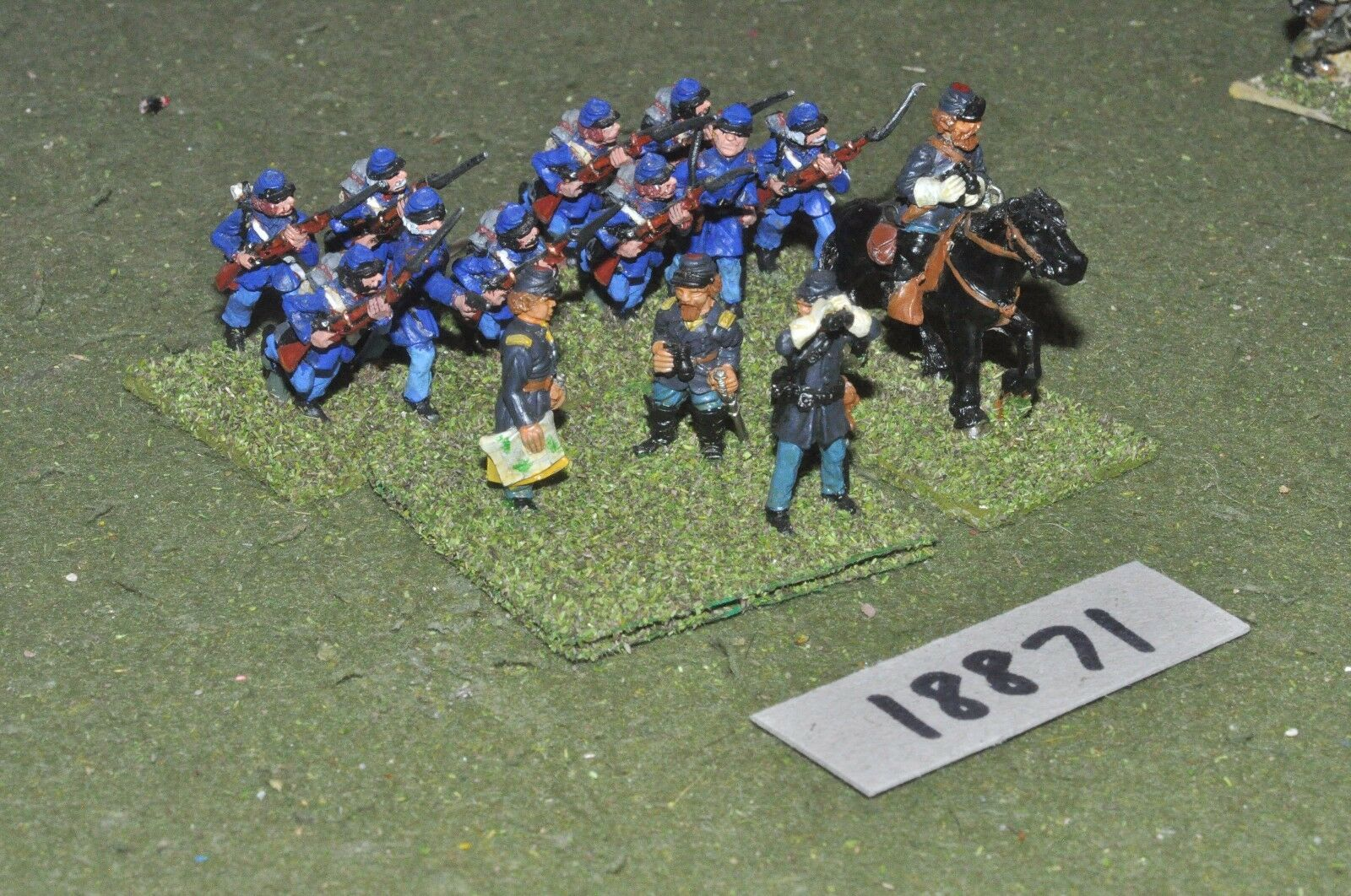 25mm ACW   union - american civil war infantry - inf (18871)