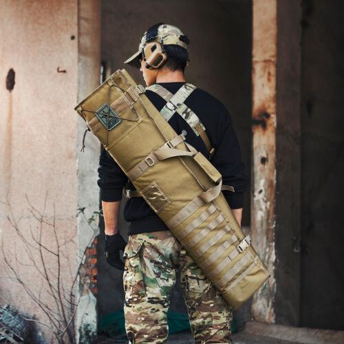 OneTigris Tactical Rifle Case Range MOLLE Hunting Shooting Mat 1000D Nylon