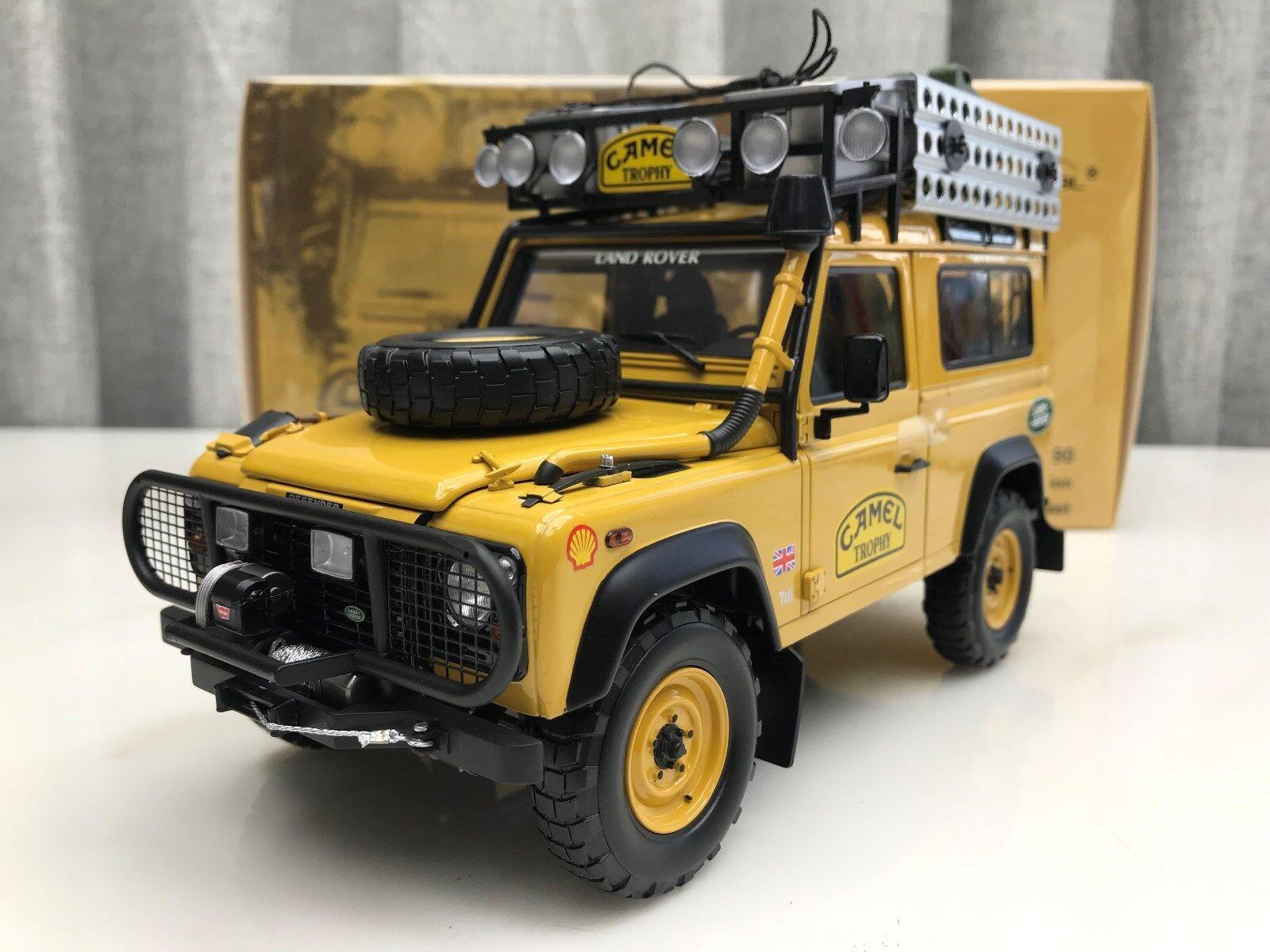 1   18 fast echtes land rover defender 90 - edition - trophäe