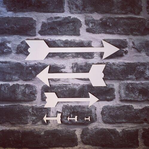 wooden arrows wall feature home decor 100mm wedding decor sign arrow blank