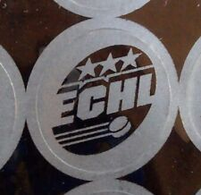 ECHL Reflective Sticker ~ Double A Minor League Hockey ~ Perfect for helmets