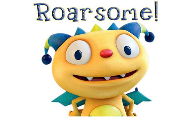 Henry Hugglemonster Roarsome! Iron-On T-Shirt Transfer w/FREE Personalization