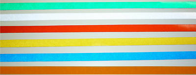 "3M Engineer Grade Reflective Pinstripe Tape 2/""x 25ft"