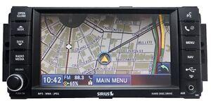 CHRYSLER-JEEP-DODGE-Ram-MyGig-Navigation-Radio-CD-MP3-DVD-Sirius-Player-730N-RER