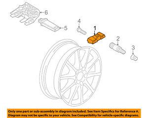 image is loading porsche-oem-14-17-panamera-tire-pressure-sensor-