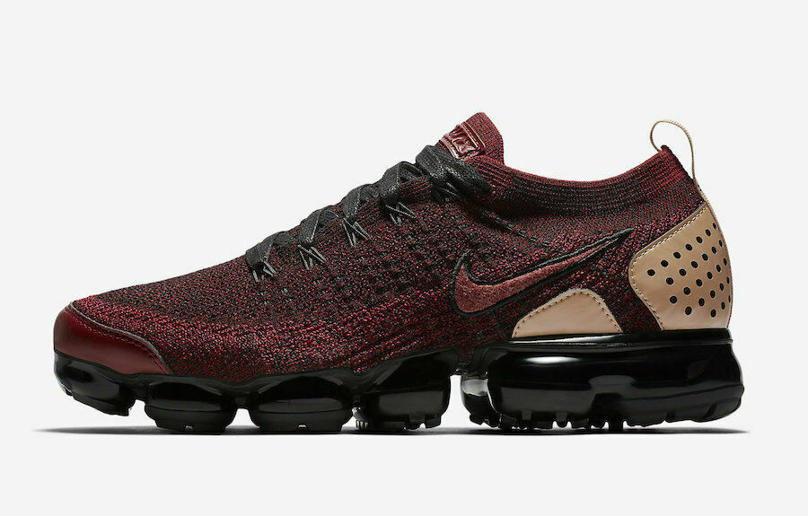 SZ 8.5 Nike Air Vapormax Flyer  2 NRG rosso Burgund nero Jacket Pack AT85955 -600  vendita scontata online di factory outlet