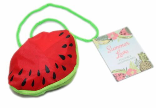 Foldable Reusable Eco Friendly Shopper Shopping Bag 35Cm X 45Cm ~ Watermelon