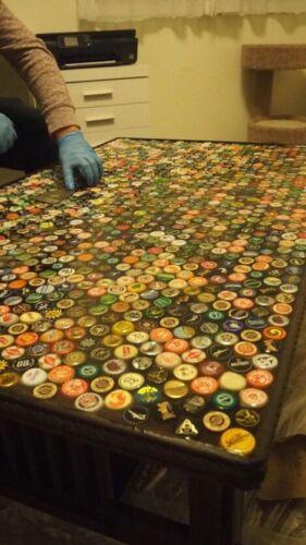 50 casquillos usados mixto de botellas de cerveza Prendas para el torso para artes y oficios Mesas Bar Tops Etc