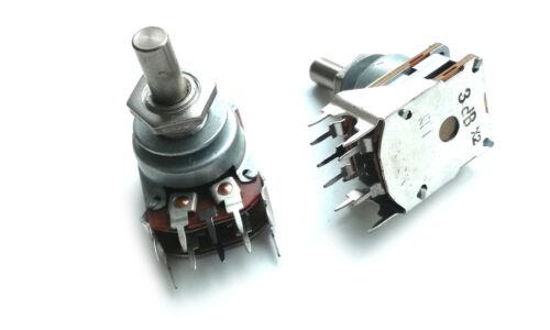 10K Estéreo Potenciómetro RFT Lin 1 Piezas Ø 6 mm 3dB