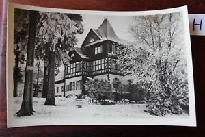 Carte Postale Vue Carte Thuringe Friedrichroda-afficher Le Titre D'origine