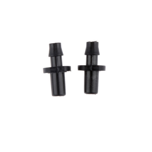 50pcs 1//4 Inch Plastic Hose Drip Nozzle fitting Agricultural Irrigation