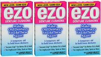 Ezo Denture Cushions Heavy Cushions Lowers 15ct ( 3 Boxes )