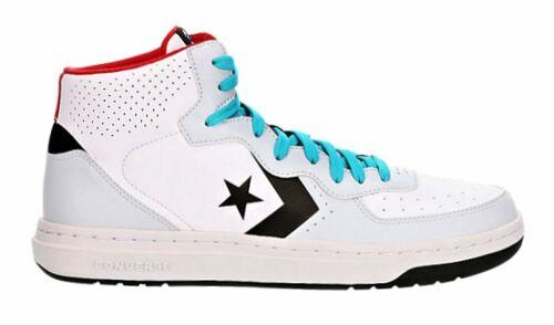 Converse Rival Mid White Platinum Mens Sneakers Tennis Shoes 164892C Black