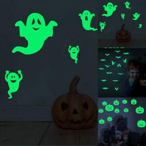 GI-ALS-Luminous-Pumpkin-Ghost-Bat-Glow-In-The-Dark-Wall-Stickers-Halloween-Roo
