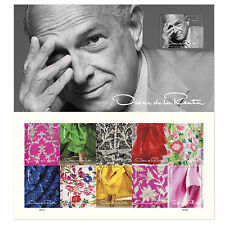 USPS New Oscar de la Renta Pane of 11
