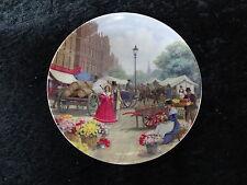ST. Andrews PIATTO DA COLLEZIONISTI Cina-Vittoriano Mercato flower seller. Horse Cart