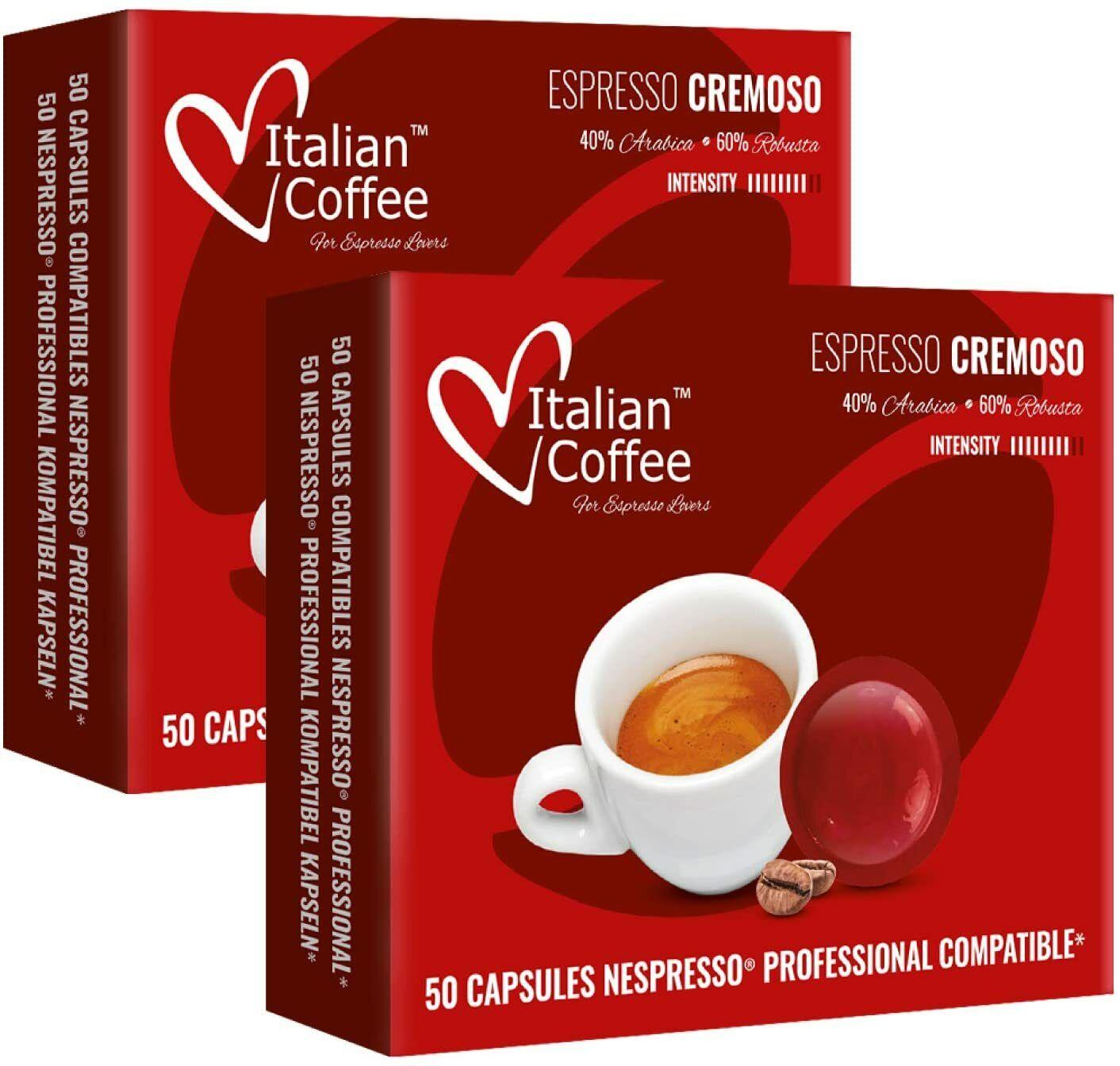 Nespresso Profesional 100 Compatibles - Cremoso