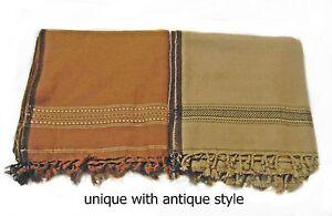 Afghane-PATOO-Handmade-Chaud-Laine-Solide-pachtoune-chale-echarpe-Wrap-Homme-Femme