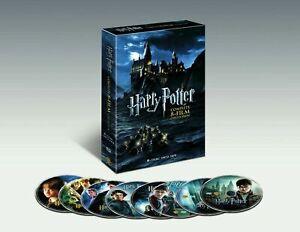 Nueva-marca-Harry-Potter-Coleccion-Completa-De-8-peliculas-DVD-2011-8-Discos