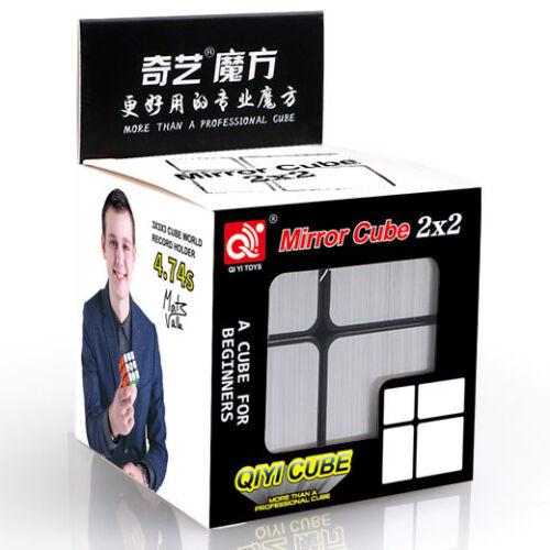 QiYi 2x2x2 Mirror Magic Cube Silber