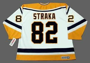 Image is loading MARTIN-STRAKA-Pittsburgh-Penguins-1998-CCM-Throwback-Home- c5add27a63b