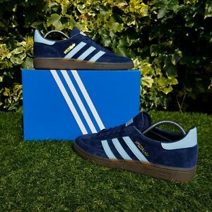 e3c5f4b6f6 Image is loading BNWB-adidas-originals-Spezial-Navy-Argentina-Blue-Suede-