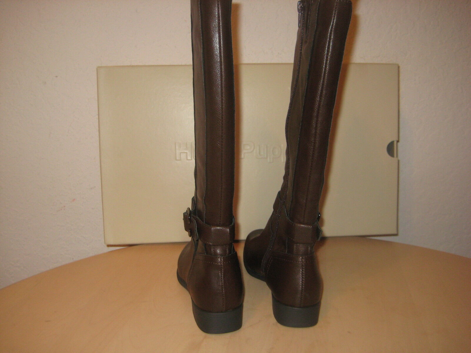Hush Puppies Schuhes 5 M Damenschuhe New Bikita Dark EUR Braun Knee High Stiefel EUR Dark 36 27c41d