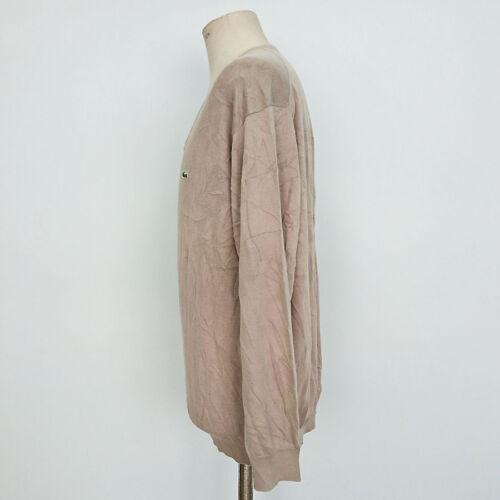 7475 Vintage 100 Lacoste Cotone Uomo Art Maglione Yq8xv8