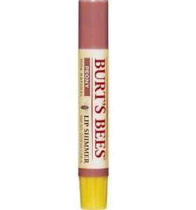 1-x-Burt-039-s-Bees-Lip-Shimmer-2-6g-Peony-100-Natural-NEW-Burts-Bees