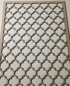 Raisonnable Radiateur Cabinet Décoratif Screening Perforé 3 Mm & 6 Mm épais Mdf Laser Cut-afficher Le Titre D'origine Emballage Fort