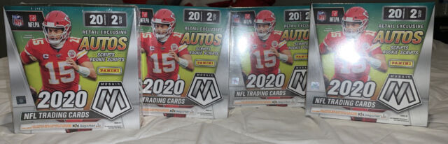 Panini Mosaic NFL Football Mega Box - 2020 SEALED IN HAND QUANTITY AVAILABLE