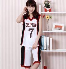 Kuroko no Basuke Cosplay SEIRIN Costume Jersey Teppei Kiyoshi