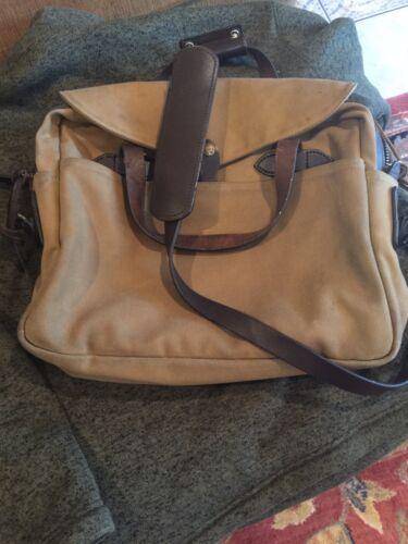 Filson Original Tan Briefcase 256