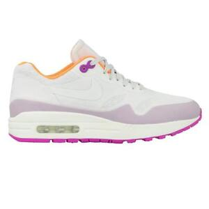 timeless design 629a5 588cb Image is loading Womens-NIKE-AIR-MAX-1-NS-White-Trainers-