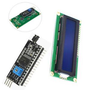 IIC-I2C-TWI-SP-I-Serial-Interface1602-16X2-Character-LCD-Module-Display-Blue