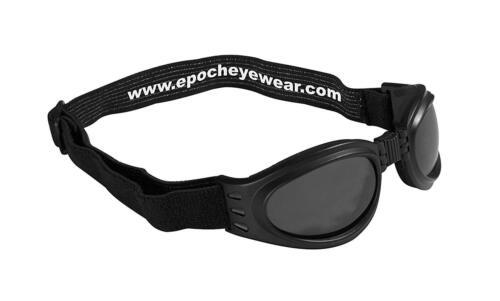 New Epoch Eyewear Folding Goggle Flexible Black Frame Sunglasses