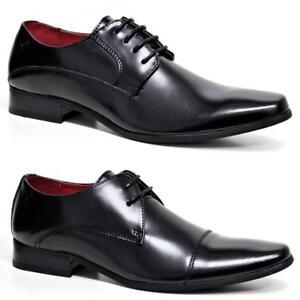 Mens Pierre Cardin Leather Shoes Italian Smart Formal