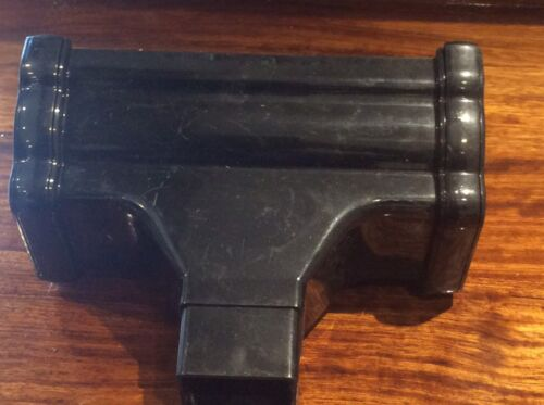 This  Auction Is For 2 OG 16 New Old Stock 2 Gutter Running Outlets  In Black