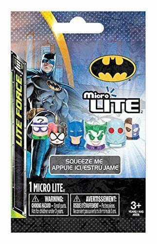 Action Figure Tech 4 Kids Tech 4 Kids Batman /& Villains Micro Lite 6 Pack