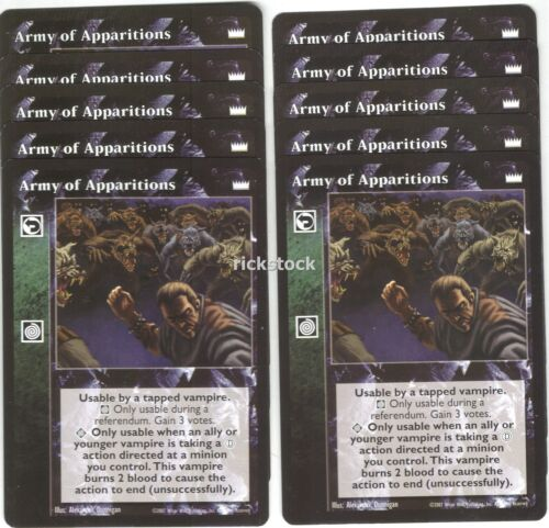Army of Apparitions x10 LotN