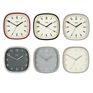 Jones Clocks Square Case Wall Clock