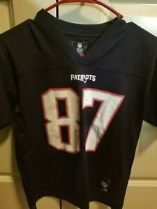 Details about Nike Gronkowski Patriots Embroidered Jersey Youth Medium Team Apparel NFL