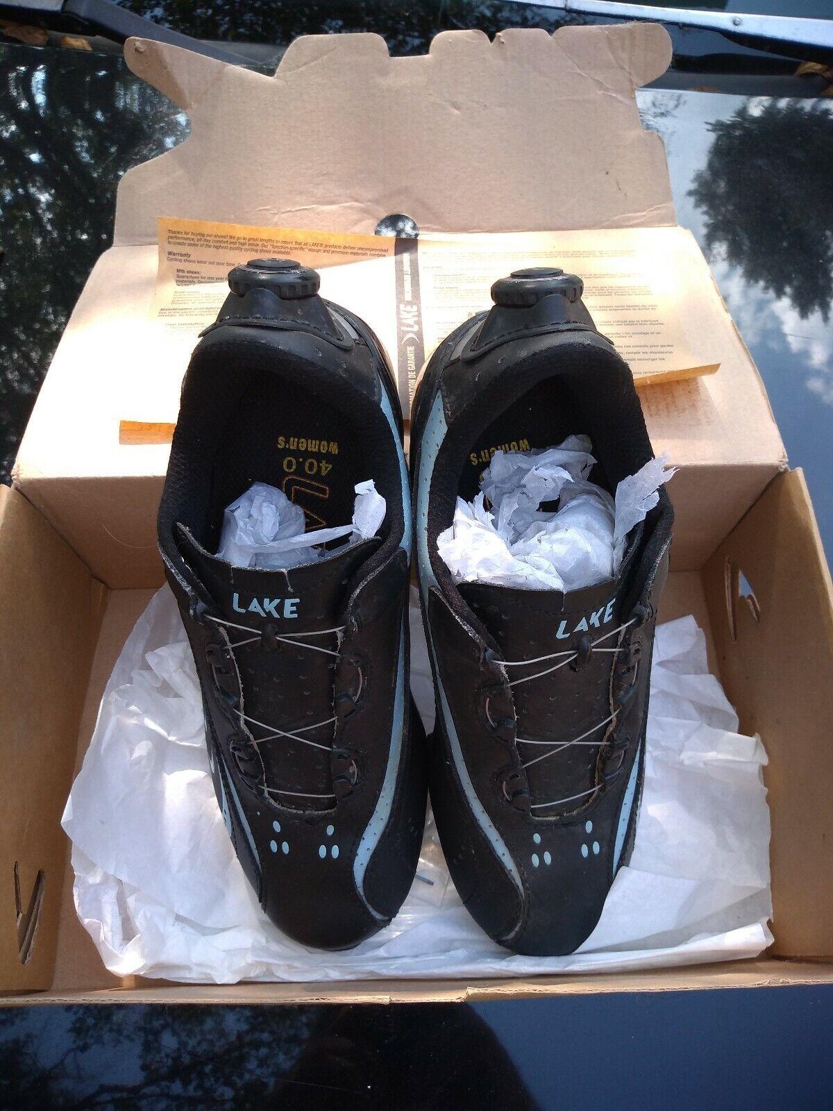 Lake Womans Mountian Bike shoes Size 39 -US 8.5