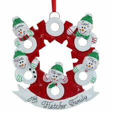 Personalized family of five 5 hugs and kisses xs os christmas tree hugs kisses wreath 3 4 5 6 personalized christmas ornament do it yourself solutioingenieria Gallery