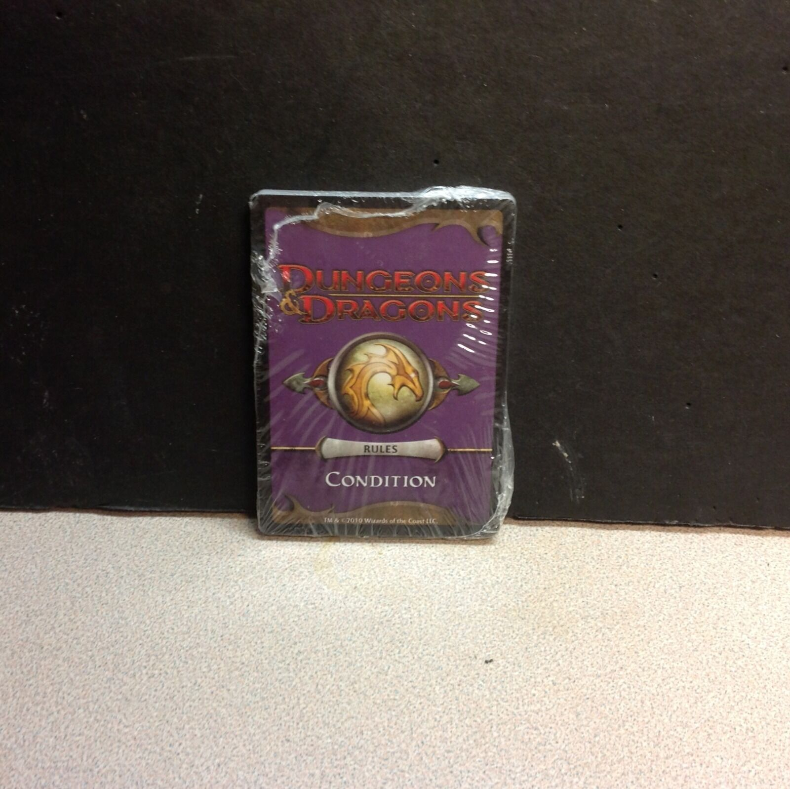 Dungeons Dragons promo condition cards mint sealed