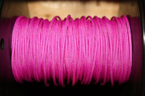 5/' BCY Fluorescent Purple D Loop Material Bow String Bowstring Archery