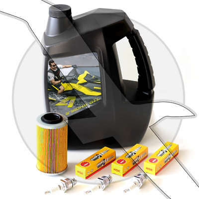 Oil Filter Spark Plug Change Kit Sea Doo 4 TEC GTI GTX RXT RXP 4 Stroke Seadoo EBay