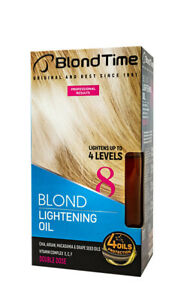 Blond Time 8 Lightening Oil Up To 4 Levels With Argan Macadamia 210 Ml Ebay
