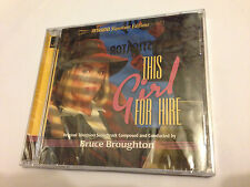 THIS GIRL FOR HIRE (Broughton) OOP Intrada Ltd Score OST Soundtrack CD SEALED