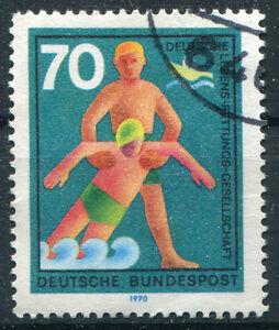 Bund-634-II-gestempelt-neuer-Plattenfehler-PF-Rundstempel-Michel-used